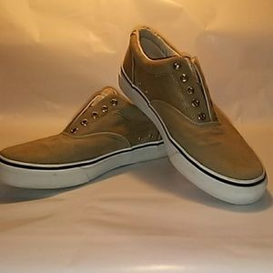 Sperry Halyard laceless Top Wider 10.5